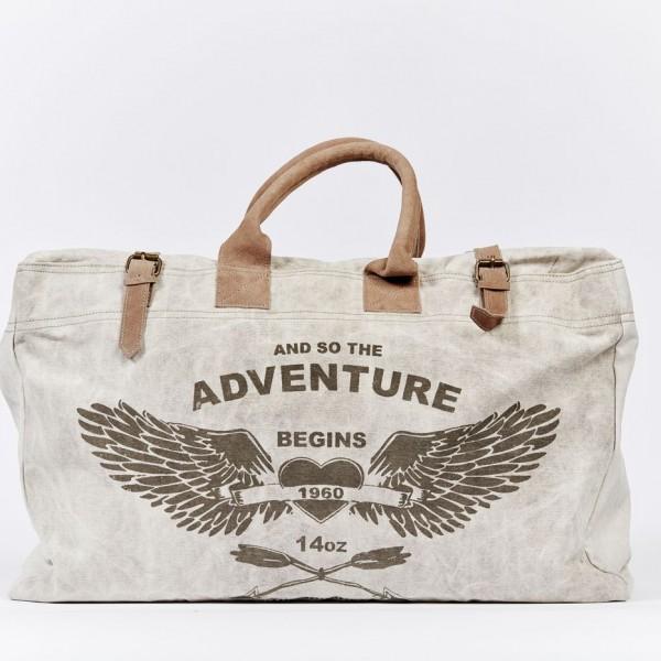 Weekender Reisetasche Tragetasche Leinen  Damentasche Herrentasche Tasche Militärzelt