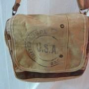Canvastasche Umhängetasche Damentasche Handtasche USA