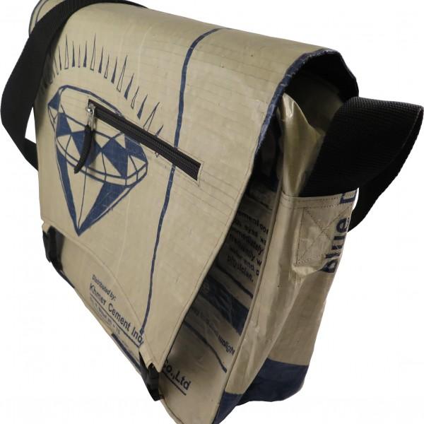 Beadbag Crispy Tasche Zementsack Messenger Bag CR4
