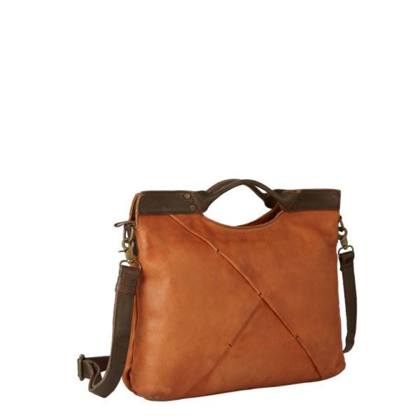 25017  Nolinearts wouwou Ledertasche Damenhandtasche Handtasche Leder whiskey shopper