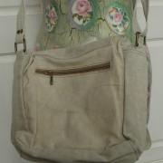 Tasche Umhängetasche Leinentasche Damentasche Tasche Schultertasche Text Militärzelt