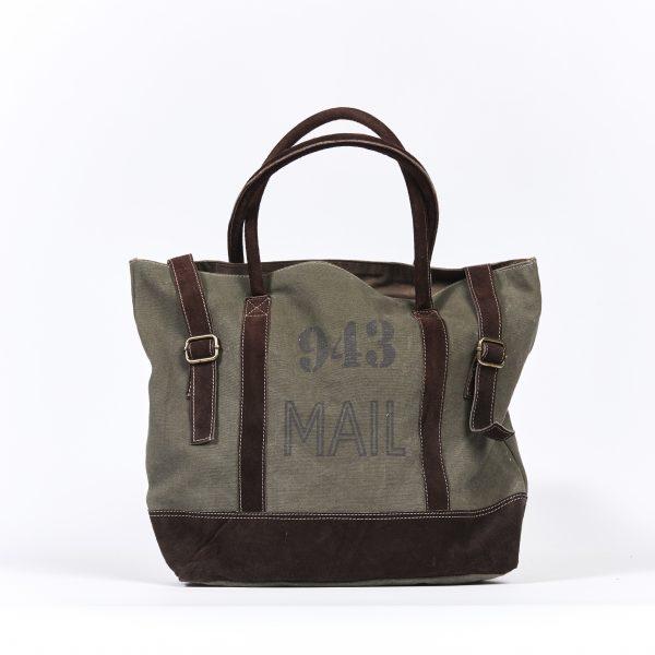 Tragetasche Tasche Shopper Einkaufstasche grün