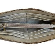 Geldbörse Portemonnaie beige Militärzelt byroom Libelle