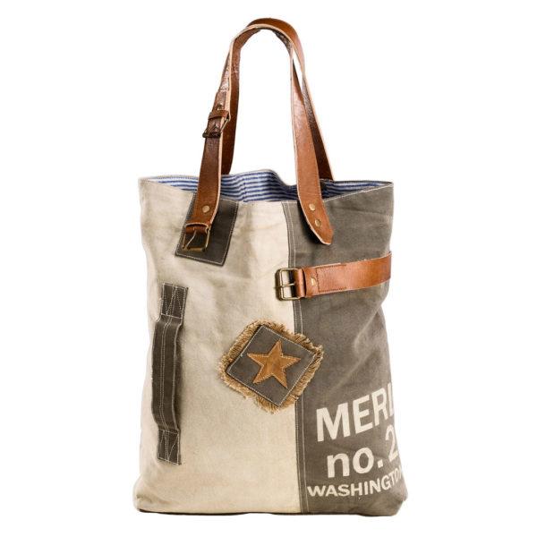 Shopper Canvastasche Tasche Canvas Vintage