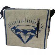 Beadbag CR6 Messenger Bag Schultertasche Umhängetasche Zementsack Recycling
