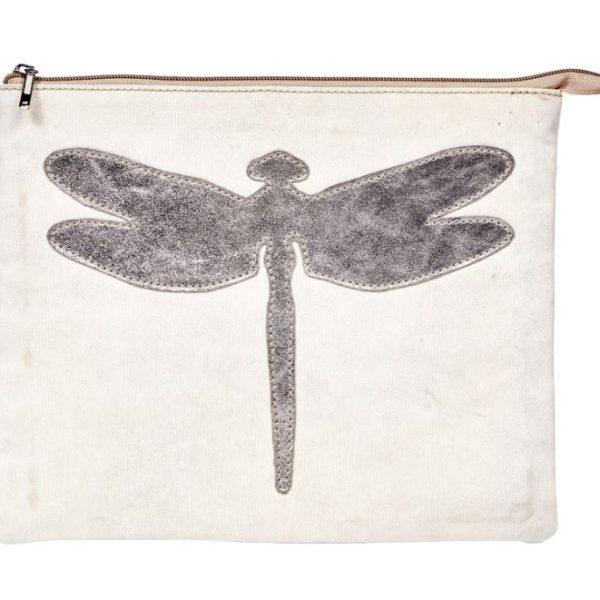 iPad Tasche Kosmetikbeutel Nolinearts Libelle Recyclink