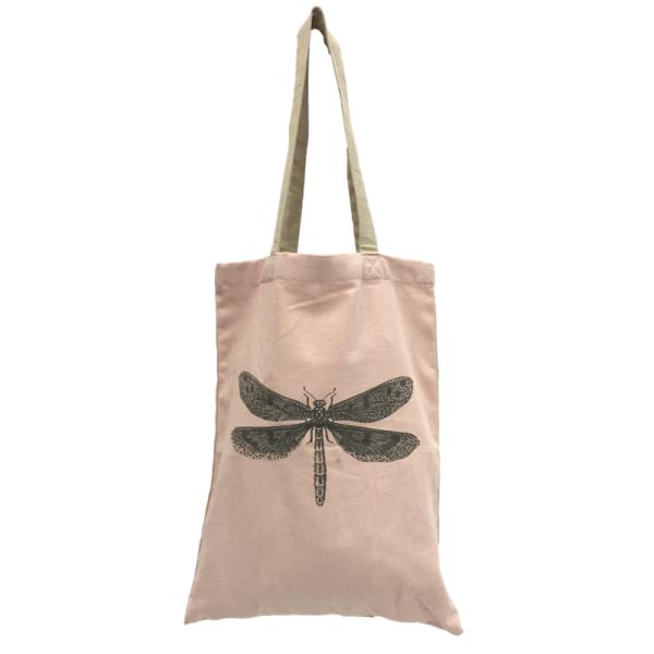 Tasche Shopper Tragetasche Baumwolle pink Nolinearts