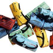 eadbags-Crispy tragetasche Einkaufstasche  nolinearts tasche beadbag shopper recycling