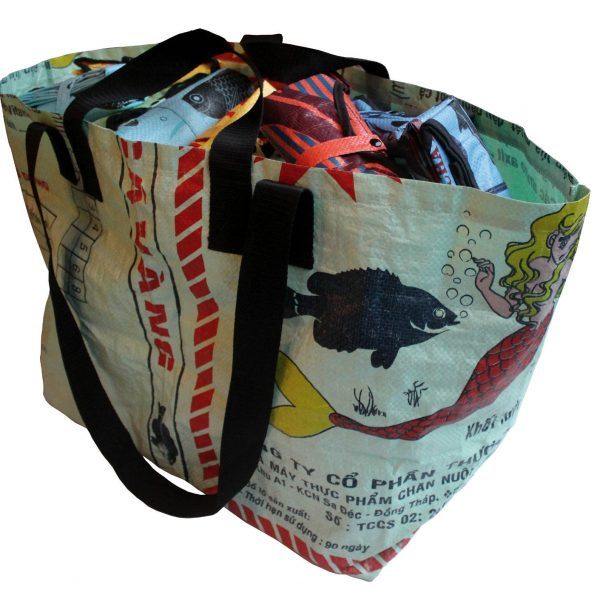 Beadbags-Crispy Nolinearts Tragetasche Strandtasche Tasche Reisen Freizeit recycling