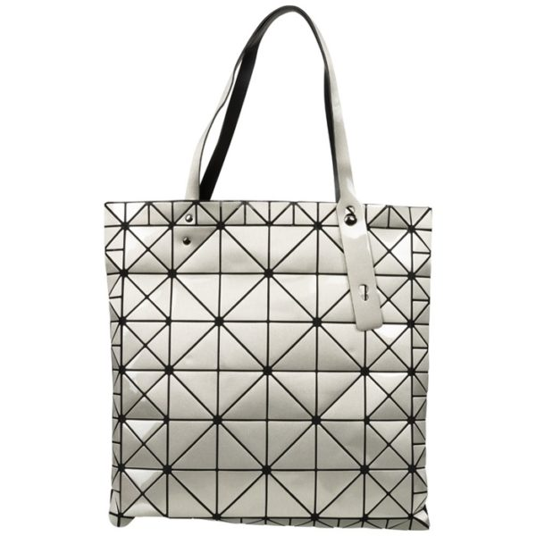 Shopper Tragetasche Handtasche Damentasche silber maliquer by me nolinearts