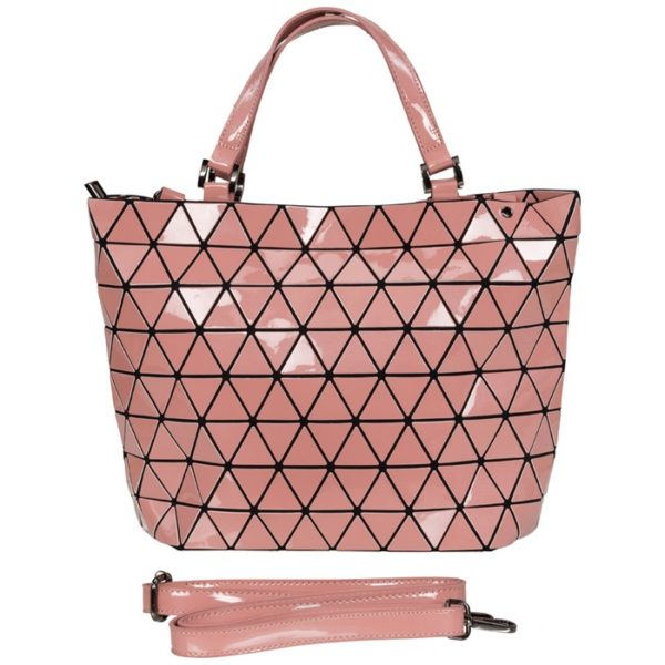 andtasche Shopper Tragetasche Schultertasche Tasche Damentasche Rosa Malique Nolinearts