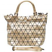 Malique By Me Handtasche Schultertasche Abendtasche Tasche gold