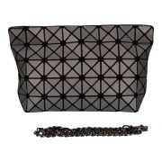 Malique GEO Tasche Damentasche Tasche Abendtasche Handtasche grau Nolinearts