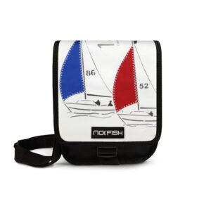 No Fish nofish segeltuch Tasche aus Segeltuch Umhängetasche Schultertasche Nolinearts Segeltuchtasche Segelboot