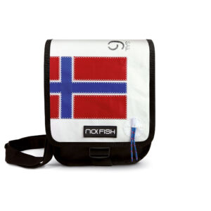No Fish nofish segeltuch Tasche aus Segeltuch Umhängetasche Schultertasche Nolinearts Segeltuchtasche Norwegen