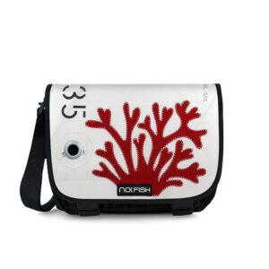 No Fish nofish segeltuch Tasche aus Segeltuch Umhängetasche Schultertasche Nolinearts Koralle