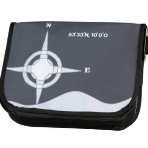 Tordalk Segeltuchtasche Tasche aus Segeltuch NOlinearts Koordinatentasche