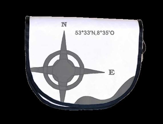 Tordalk Segeltuchtasche aus gebrauchten Segeln