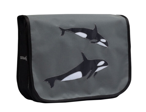 Segeltuchtasche Orca aus gebrauchten Segeln