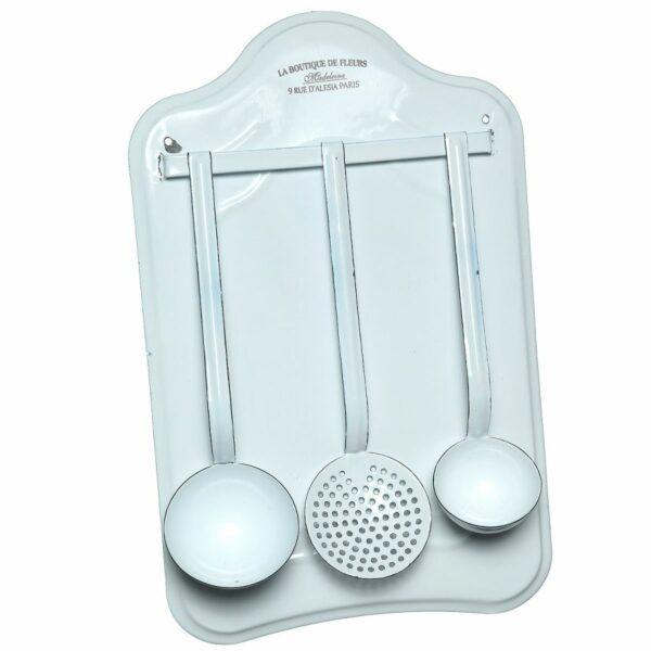 Küchenset Emaille Kelle Küchenkelle Suppe Suppenkelle Emaille Nolinearts Küche Accessoires