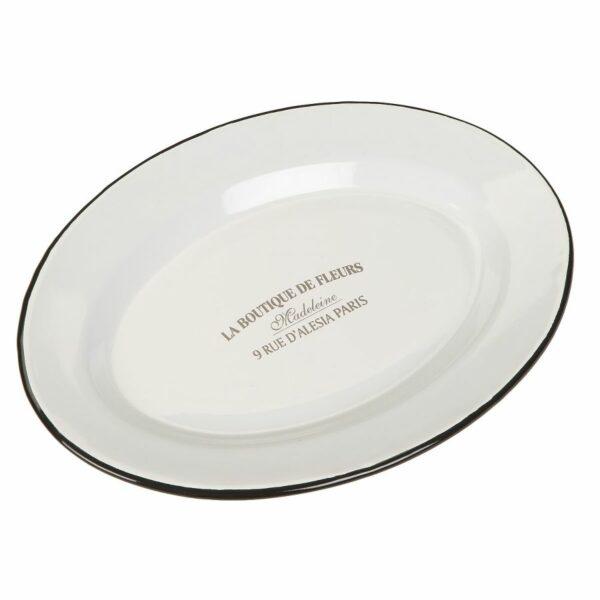 Küche Emaille Servierplatte haushält Platte Nolinearts