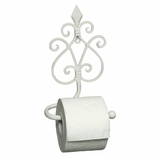 Toilettenrollenständer antikweiss Klopapier Klopapuerhalter WC Toilette Bad Badezimmer Toilettenpapierhalter