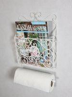 Zeitungsständer Wandregal Toilettenpapier Klopapierhalter Wandregal