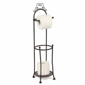 Toilettenrollenständer antikweiss Klopapier Klopapuerhalter WC Toilette Bad Badezimmer