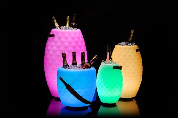 Joouly Bowl LTD Joouly LTD 65 Joule Joule.com LED Lampe Bluetooth Lautsprecher