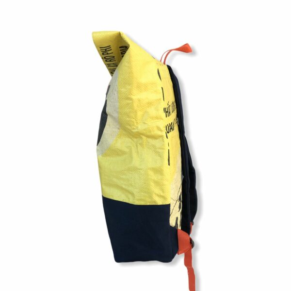 Beadbags Rucksack Backpack Upcycling Nolinearts