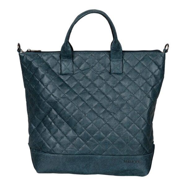 Shopper Tasche Damentasche Umhängetasche Malique By Me Nolinearts Blau