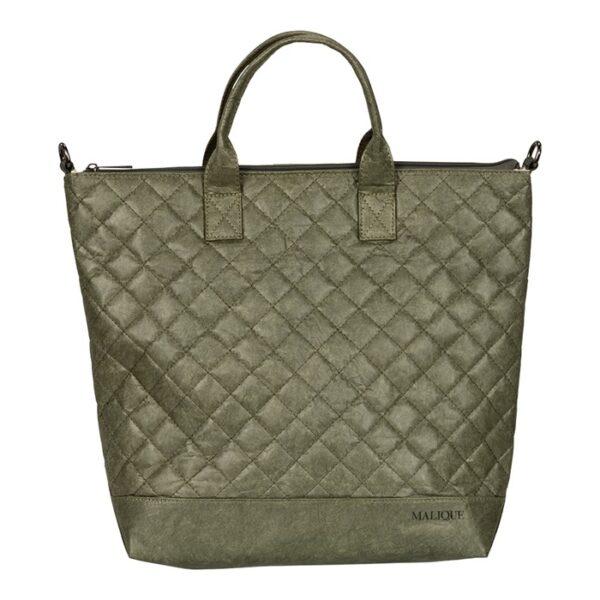 Shopper Tasche Damentasche Umhängetasche Malique By Me Nolinearts Grün Nolinearts