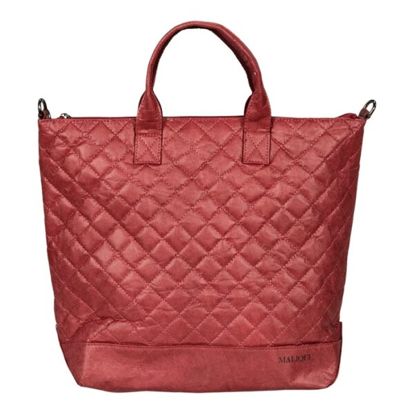 Shopper Tasche Damentasche Umhängetasche Malique By Me Nolinearts Rot Nolinearts