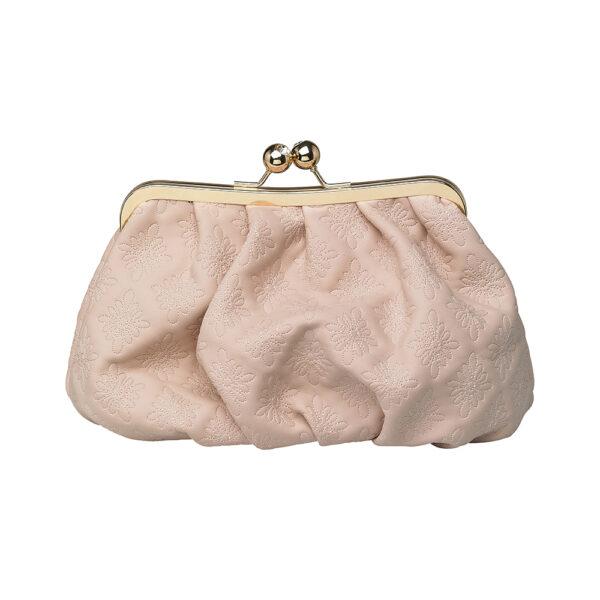 Coming Kopenhagen Kisslockbag Kosmetiktasche Kulturtasche Handtasche rosa