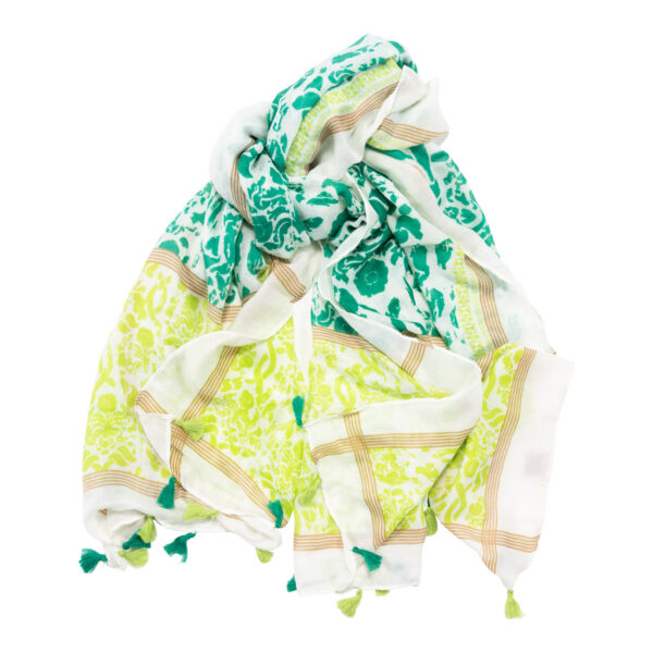 Schal Tuch grün Malique By Me Nolinearts