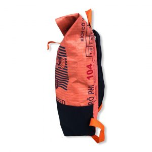 Beadbags Rucksack Reissack upcycling Recycling Backpack Upcycling Nolinearts