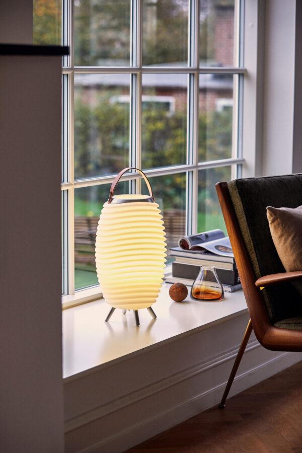 Kooduu Synergie Nolinearts Lampe LED Weinklühler Bluetooth Lautsprecher